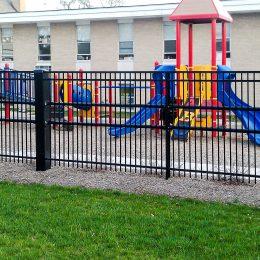 Stalwart II PU30-P2 outside of Daycare Playground